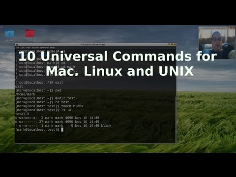 10 Universal Commands for Mac, Linux and UNIX