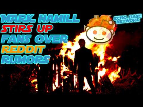 Mark Hamill Stirs Up Fans Over JJ Cut Reddit Rumors