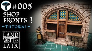 Crafting Shop Fronts for tabletop RPG (tutorial)