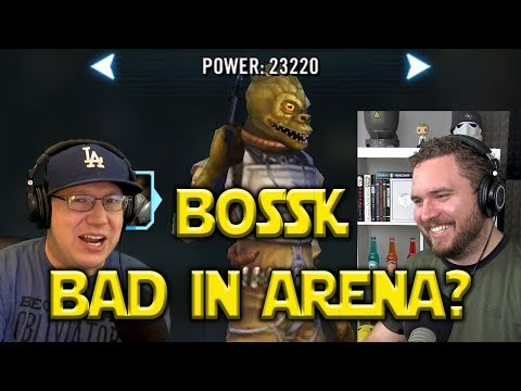 How Bad Is Bossk In The Arena?  | Star Wars: Galaxy Of Heroes - SWGOH