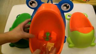 Product Review: High Quality Version 2 Frog Training Potty for Boys Urinal 3 Colors