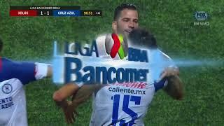 GOL: Xolos 1-1 Cruz Azul