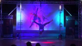 Charlotte Walker - WINNER Intermediate Hoop - Emma's Pole Dancing Championship 2014