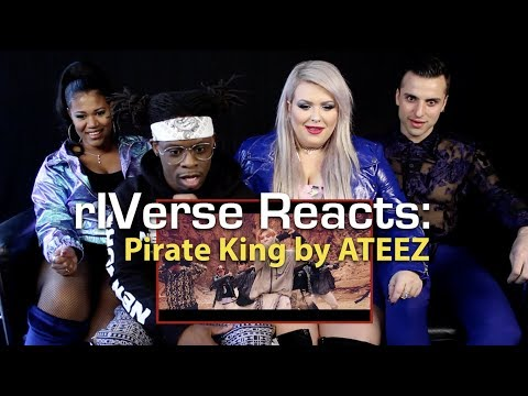 rIVerse Reacts: Pirate King by ATEEZ - M/V Reaction