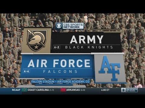 November 4, 2017 - Army Black Knights vs. Air Force Falcons Full Football Game