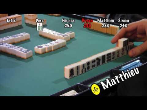 Mahjong à la Crypte - Finale du tournoi d'automne 2016