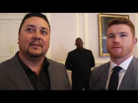 CANELO ON GOLOVKIN, REFUSES MAYWEATHER TALK, & WILL FIGHT SAUNDERS WITH 'ONE HAND TIED BEHIND BACK'