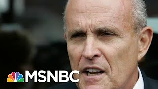 'He's Gonna Sing': Giuliani Hires 3 Lawyers Amid Ukraine Scandal | The Beat With Ari Melber | MSNBC