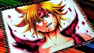 Drawing - Meliodas Assault Mode/Demon form ( Nanatsu no taizai) [ 七つの大罪 ]