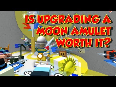 Is Upgrading Your Moon Amulet Worth It? - Bee Swarm Simulator