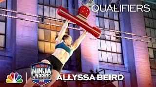 Allyssa Beird at the Philadelphia City Qualifiers - American Ninja Warrior 2018