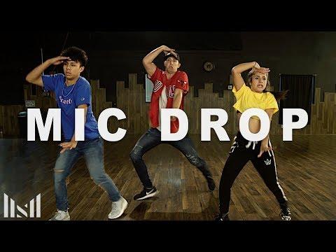 MIC Drop - BTS (방탄소년단) Dance & Tutorial | Matt Steffanina ft Kenneth & Tati