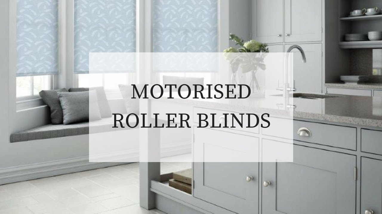 Motorised Roller Blinds Installed Recently Youtube