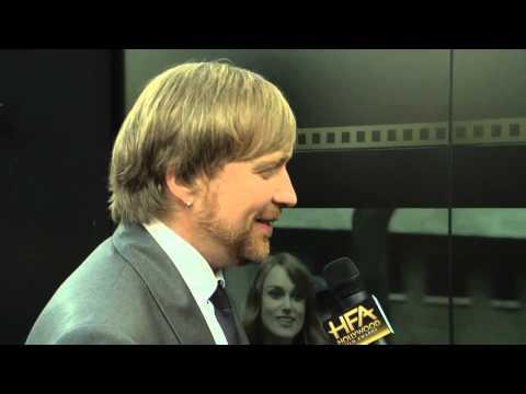 Morten Tyldum Red Carpet Interview - Hollywood Film Awards 2014