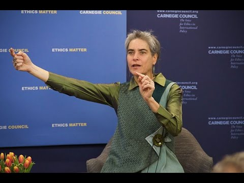 Global Ethics Forum: A Conversation with Sarah Chayes on Corruption and Global Security