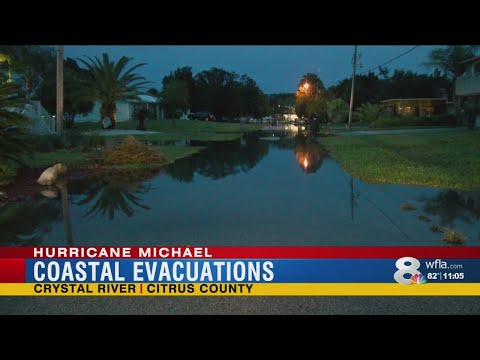 "Citrus County evacuees: ""Better safe than sorry."""