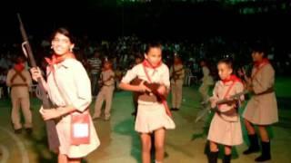 Dança das crianças do Fundamental II - Xaxado