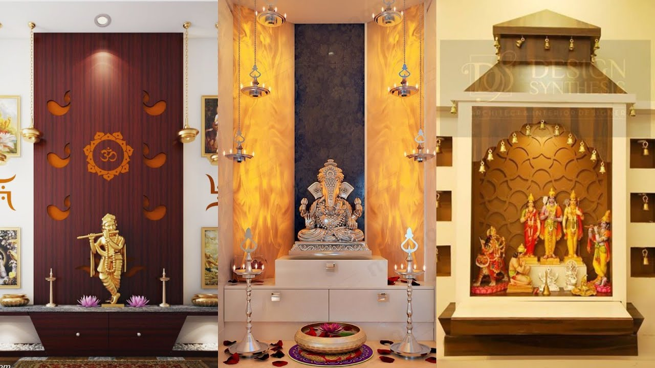 Modern Indian Pooja Room Design Ideas