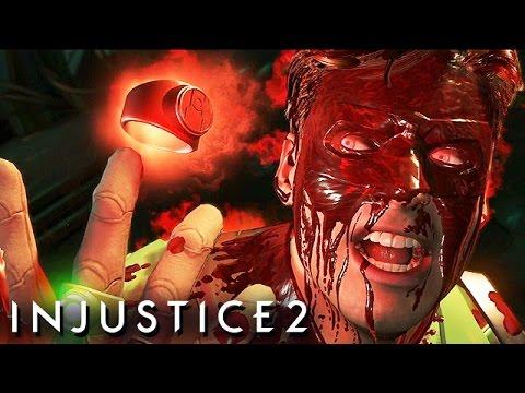Injustice 2 Gameplay German Story Mode - Green Lantern Vs. Atrocitus