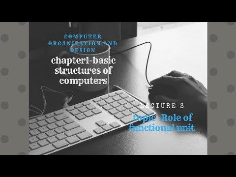 Role of functional unit in computers