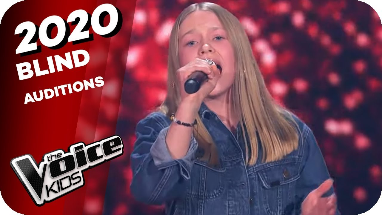 Leona Lewis Run Lisa Marie Winner The Voice Kids 2020 Blind Auditions Youtube