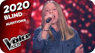 Leona Lewis - Run (Lisa-Marie) | The Voice Kids 2020 | Blind Auditions