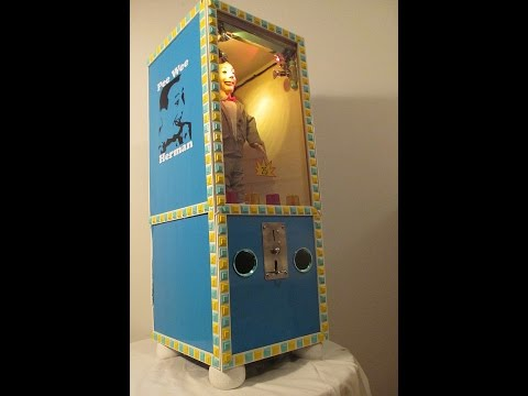 Pee-Wee Fun Machine  * Handmade* (See Description)