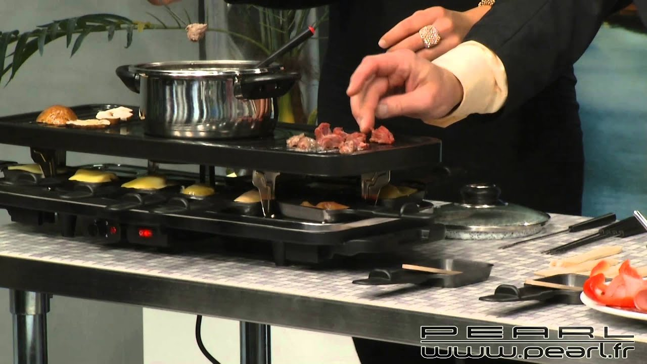 nc3482 appareil raclette d pliable pour 2 8 personnes youtube. Black Bedroom Furniture Sets. Home Design Ideas
