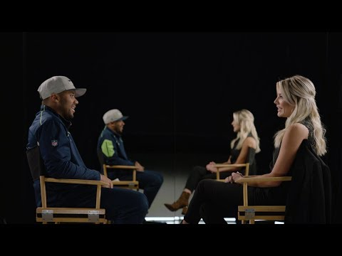 Russell Wilson and Charissa Thompson