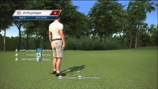 Tiger Woods PGA Tour 13 Online Gameplay: Country Club Match