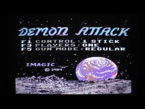 Let's Compare: Demon Attack - Atari 2600 vs. Atari 8-Bit vs. Commodore C64