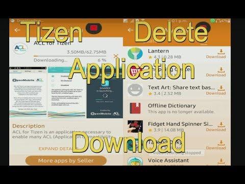 Remove Tizen Store application download