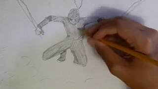 How to Draw: Ninja, Detailed Tutorial