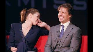 Rebecca Ferguson One Kiss with Tom Cruise