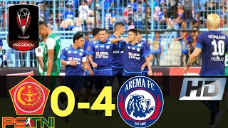 PS TNI Vs Arema 0-4 Piala Presiden All Goals & Highlights 16/02/2017