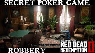 Robbing Secret Poker Game in Red Dead Redemption 2