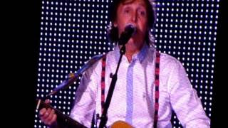Here Today    Sir Paul at Petco Park 9-28-2014