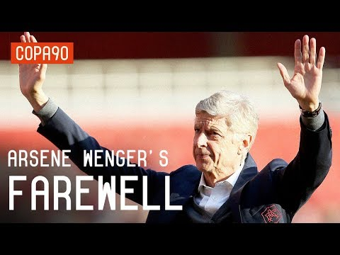 Arsene Wenger's Emotional Farewell to Arsenal
