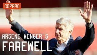 Arsene Wenger's Emotional Farewell to Arsenal