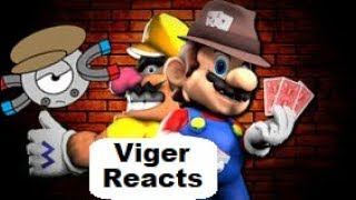 "Viger Reacts to SMG4's ""Mario The Scam Artist"""