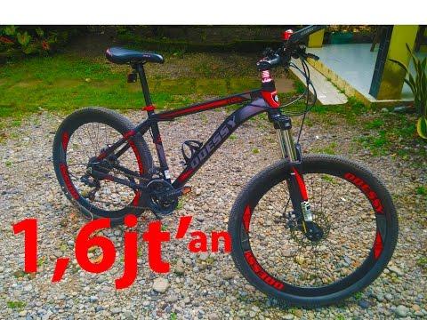 Sepeda MTB alloy murah + keren harga kere hore..