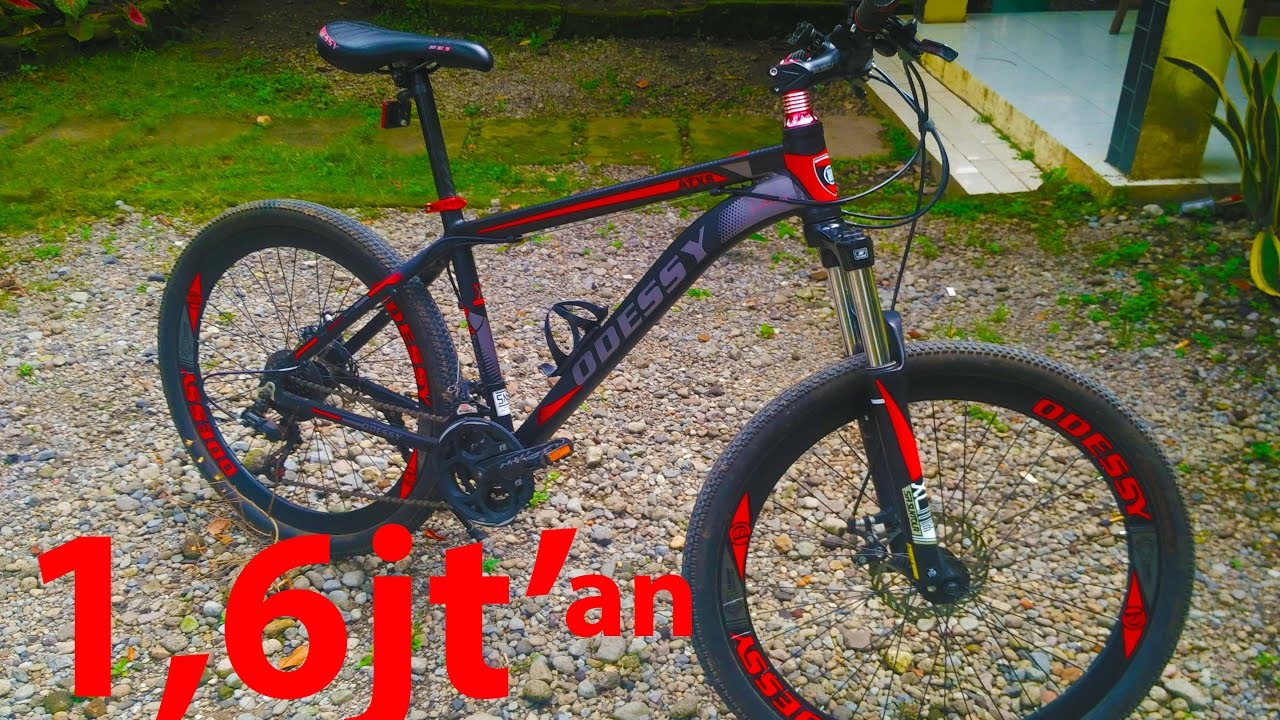 Sepeda MTB alloy murah + keren harga kere hore.. - YouTube