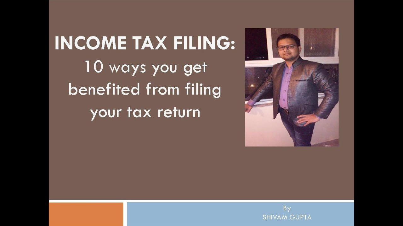 how to file income tax return online youtube