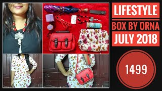 Lifestyle Orna Box July 2018 |Branded makeup & Skincare |Unboxing and Review thumbnail