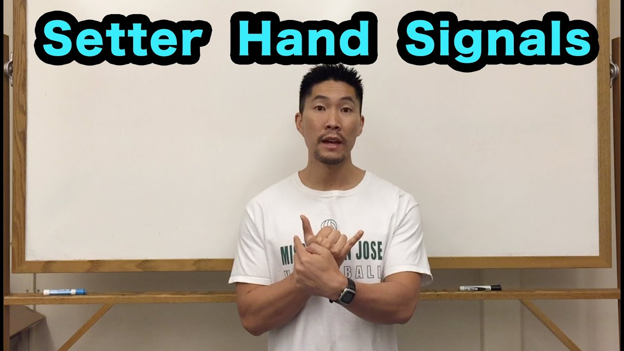 Front Row Setter Hand Signals Part 1 2 Volleyball Tutorial Youtube