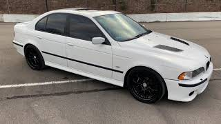 1997 BMW 540 six speed Dinan goodies walk around and drive