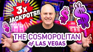 🥉 3 JACKPOTS on The Vault!? 🥉 $50 SPINS at Cosmopolitan Las Vegas