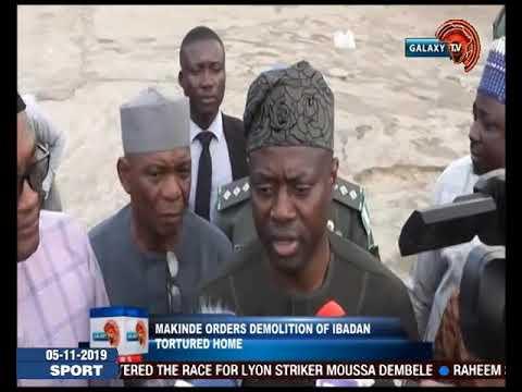 Makinde Orders Demolition of Ibadan Torture Home