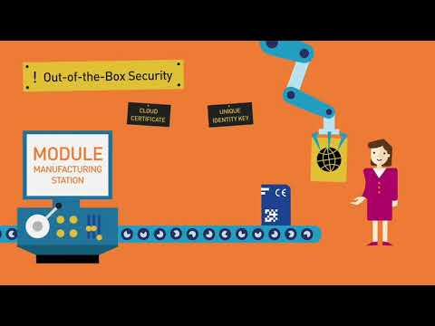 Out-of-the-Box Secure IoT Device Authentication to Cloud Platforms - Thales