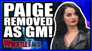 Paige REMOVED As Smackdown General Manager! | WWE Smackdown Live Dec. 18 2018 Review!